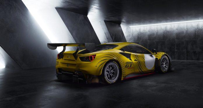 Ferrari 488 GT Modificata rear