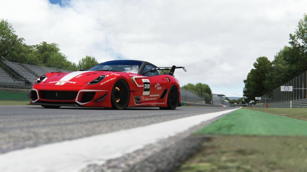 2021 Ferrari eSports Championship cars 599XX Evo