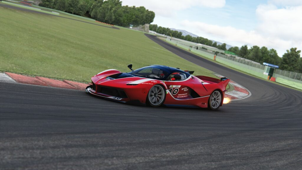 2021 Ferrari eSports Championship cars FXX-K Evo