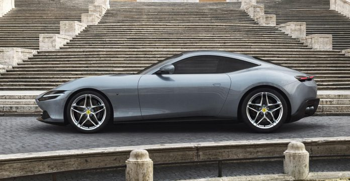 Ferrari Roma Side