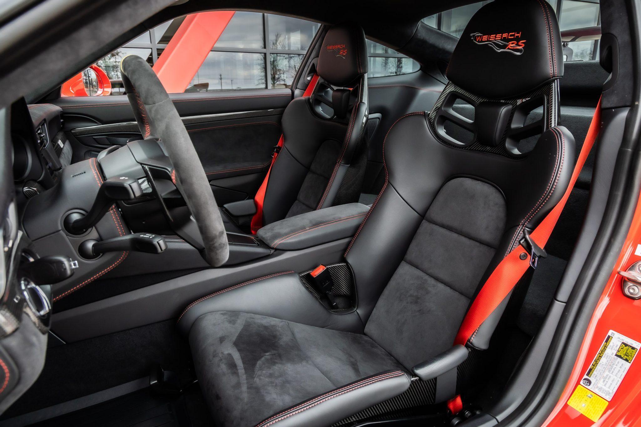 2018 GT2 RS Weissach Interior