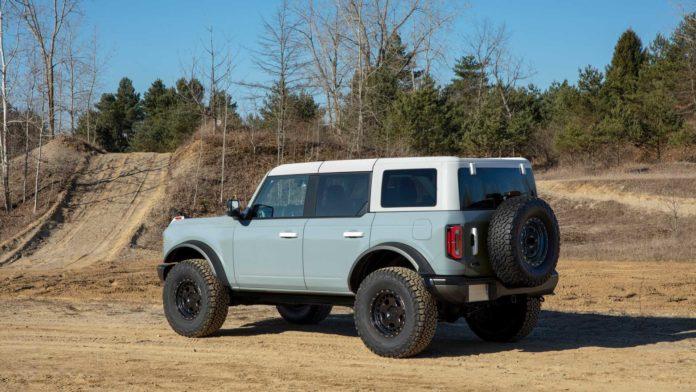 2021 Ford Bronco 4 door Price