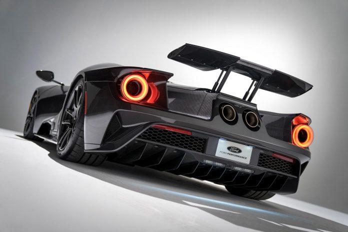 Liquid Carbon Ford GT Rear