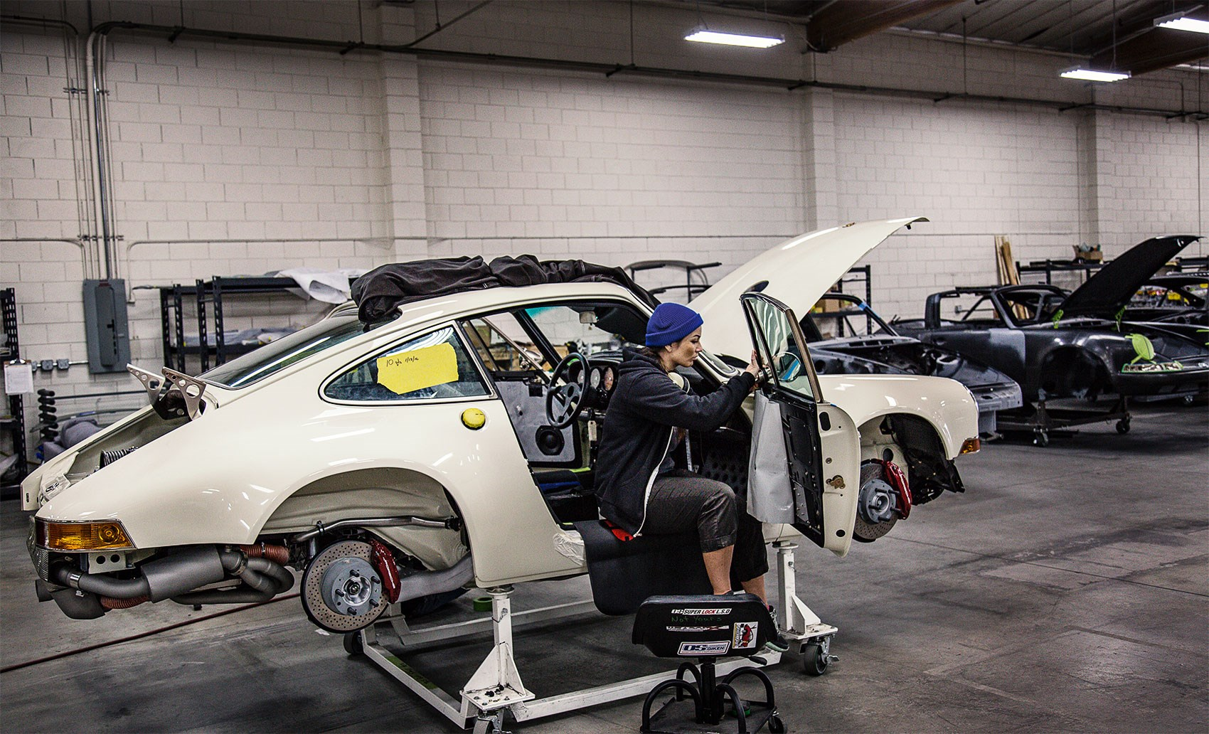 Singer Porsche Process