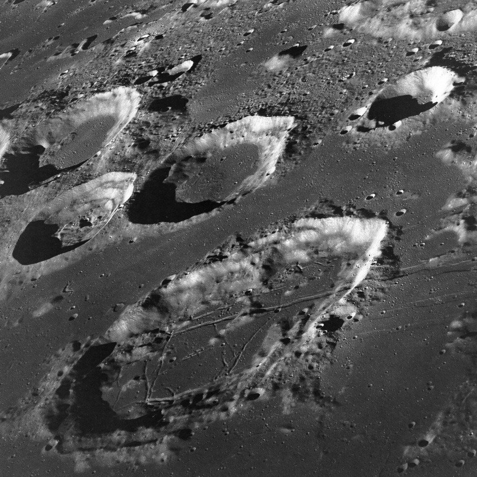 Humanity's first glimpse at the Lunar far side came as Borman, Lovell and Anders orbited the Moon.