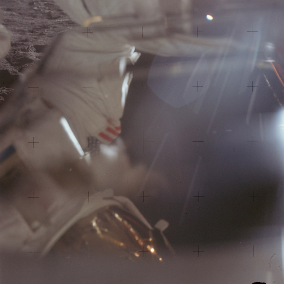 Just because they're on the moon doesn't mean they don't accidentally push the shutter button like everyone else.