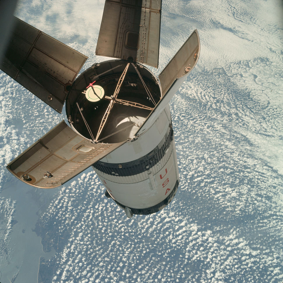 Docking practice at 17,500 MPH