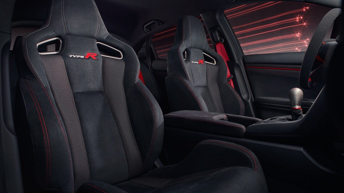 Honda Civic Type R Sport Line Seats