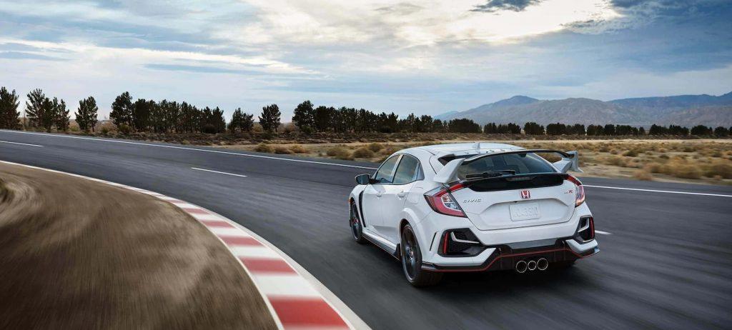 Honda Civic Type R Race Track