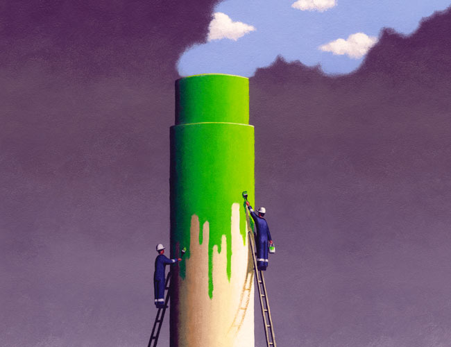 How to Defeat the Big, Dirty Greenwashing Lie