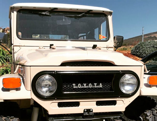 Is This All-Electric Vintage Land Cruiser Brilliant, Or Bizarre?