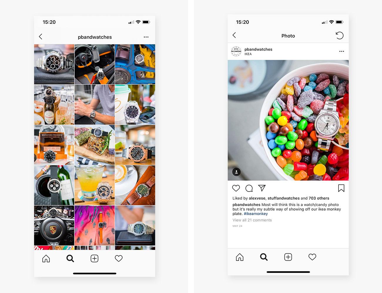 Instagram account forums