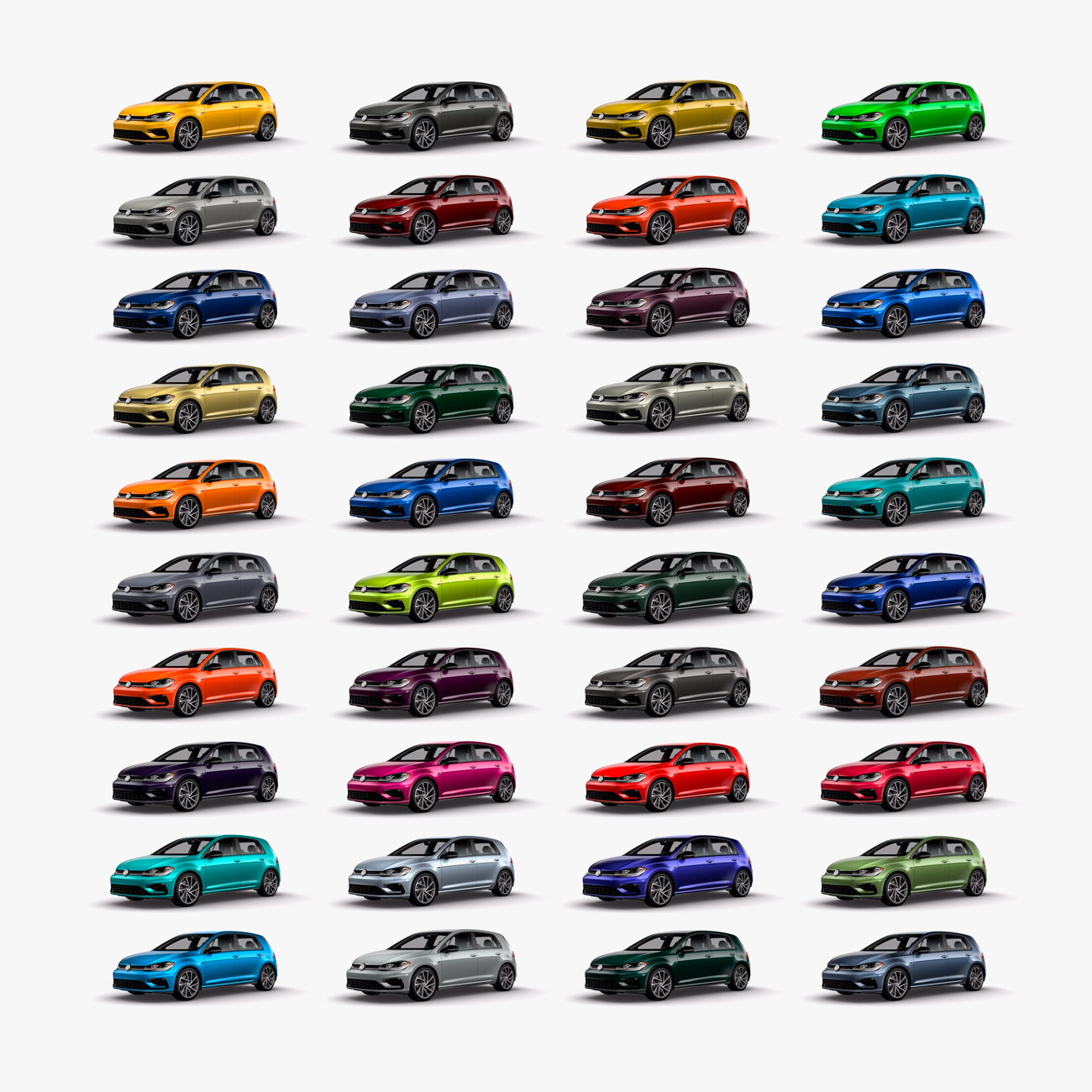 In A World Plagued With Dull Car Colors Volkswagen Is Offering 40