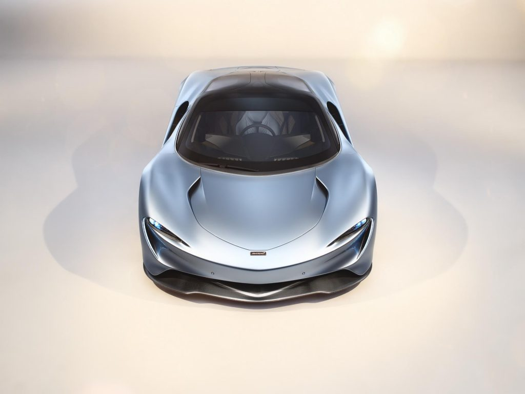 McLaren Speedtail Front End