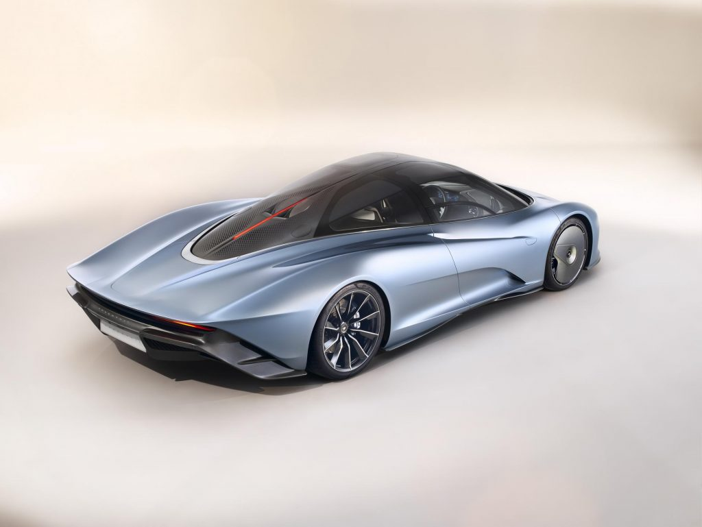 McLaren Speedtail Rear 3/4
