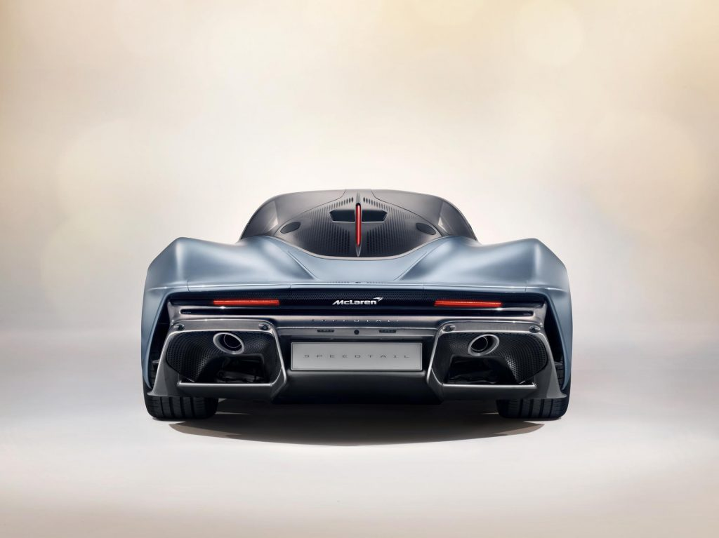 McLaren Speedtail Rear End