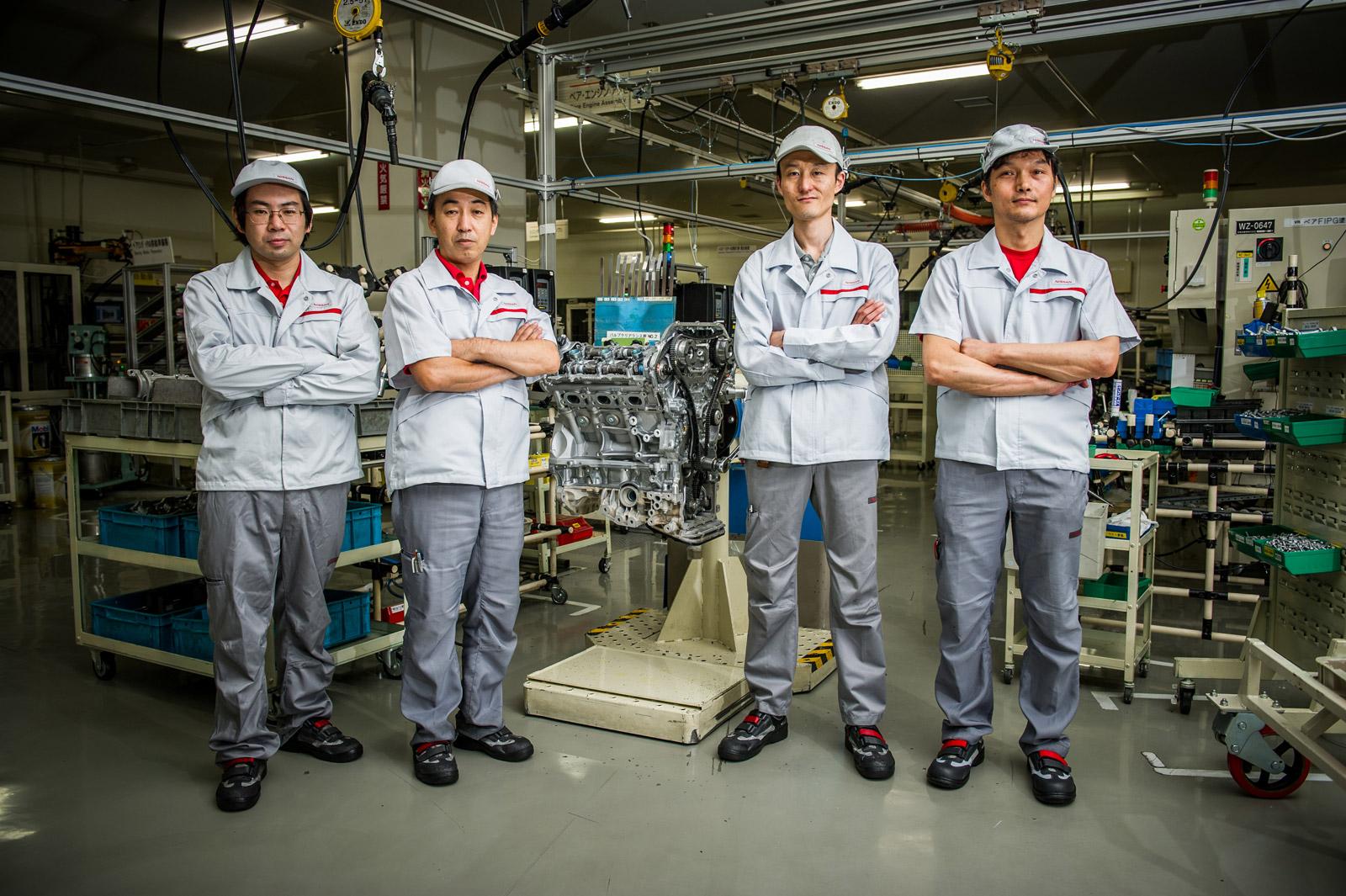 Nissan Takumi Craftsmen