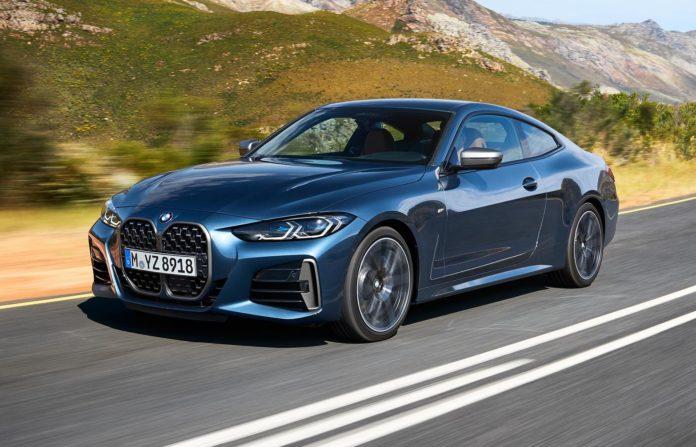 BMW 4 Series Big Grille