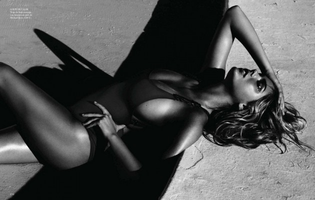 Sx-Z | Kate Upton by Miguel Reveriego for Vogue Spain July 2012