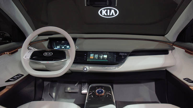 Kia Niro EV interior photo
