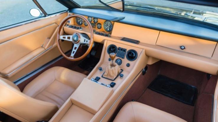 Lamborghini Jarama Heads To Pebble Beach Auction