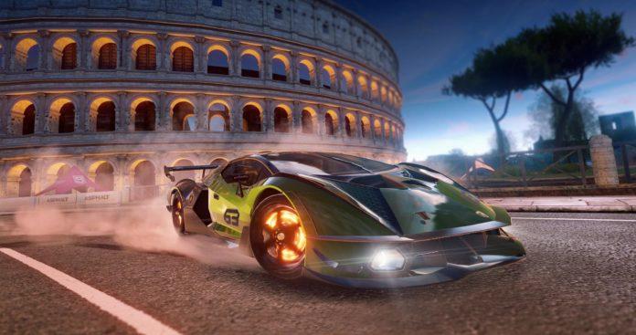Lamborghini Essenza Asphalt