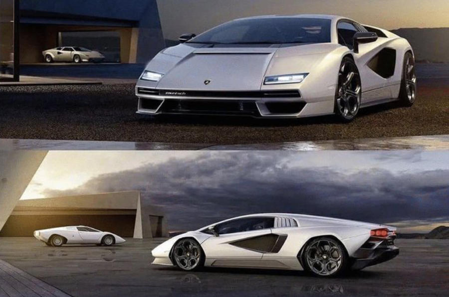 a view of the 2021 Lamborghini Countach