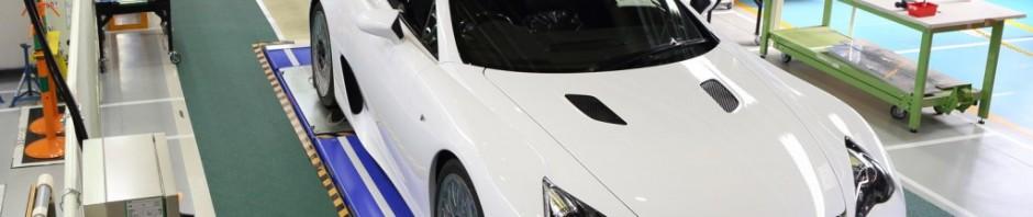 Lexus LFA build #500 | Sx-Z