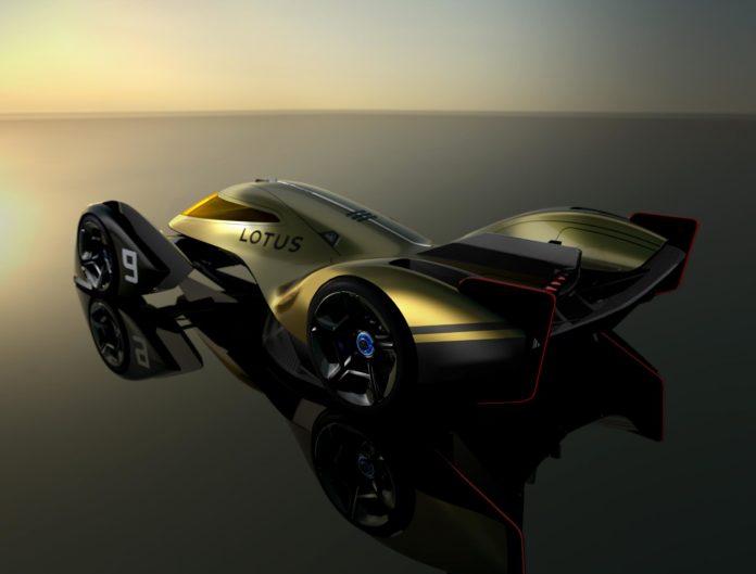 Lotus E-R9 rear