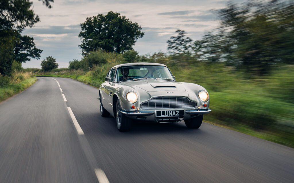 Aston Martin DB6 Electrfied by Lunaz