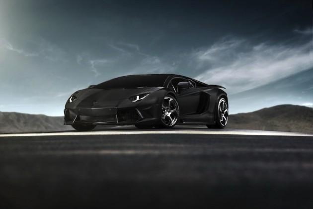 Sx-Z   Lamborghini Aventador 'Carbonado' by Mansory