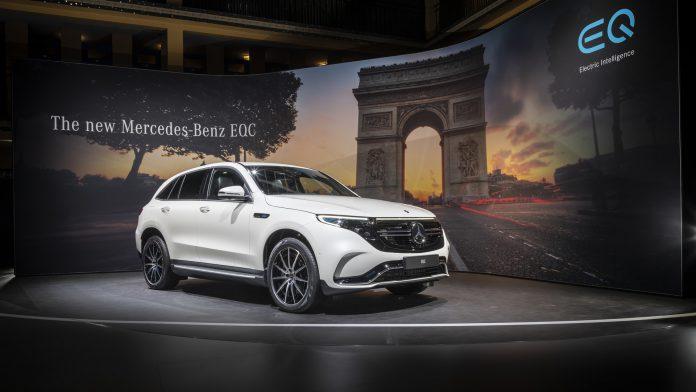 2019 Mercedes-Benz EQC Front View