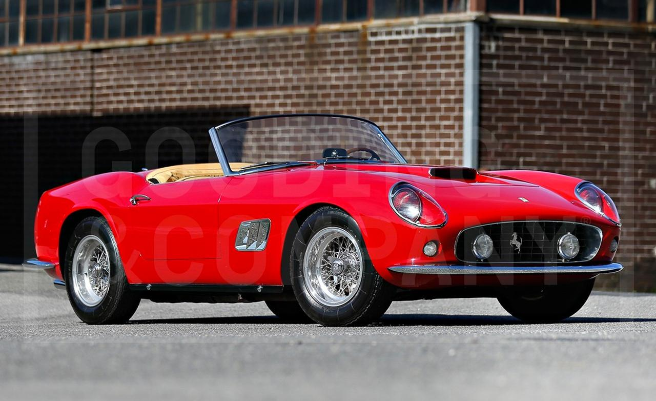 1959 Ferrari 250 GT California Spyder SWB