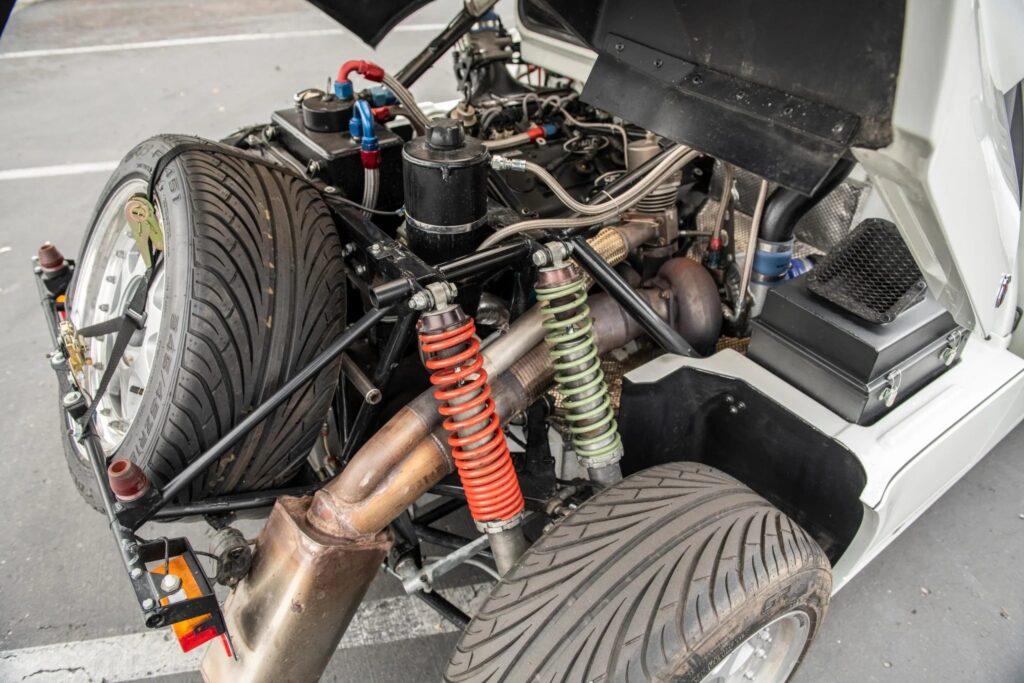 1986 Ford RS200 Evo engine bay