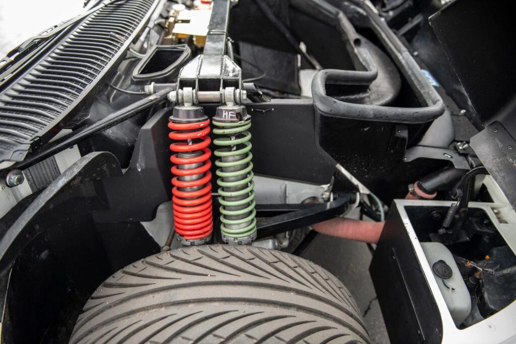 1986 Ford RS200 Evo suspension