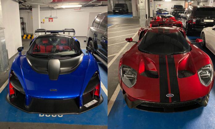 Supercars in Dubai