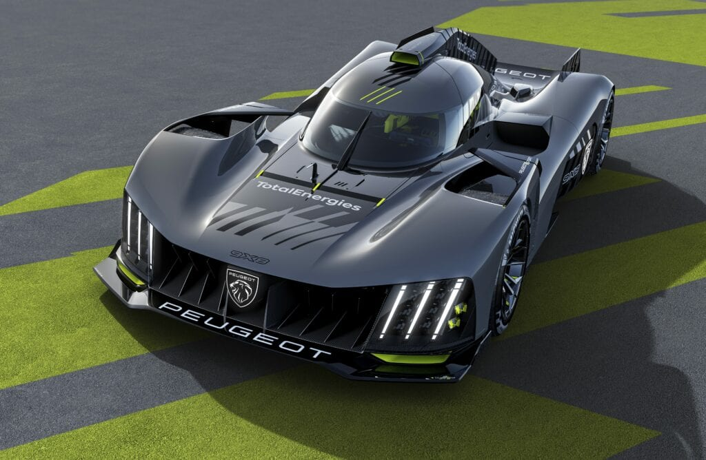 2022 Peugeot 9X8 Hypercar