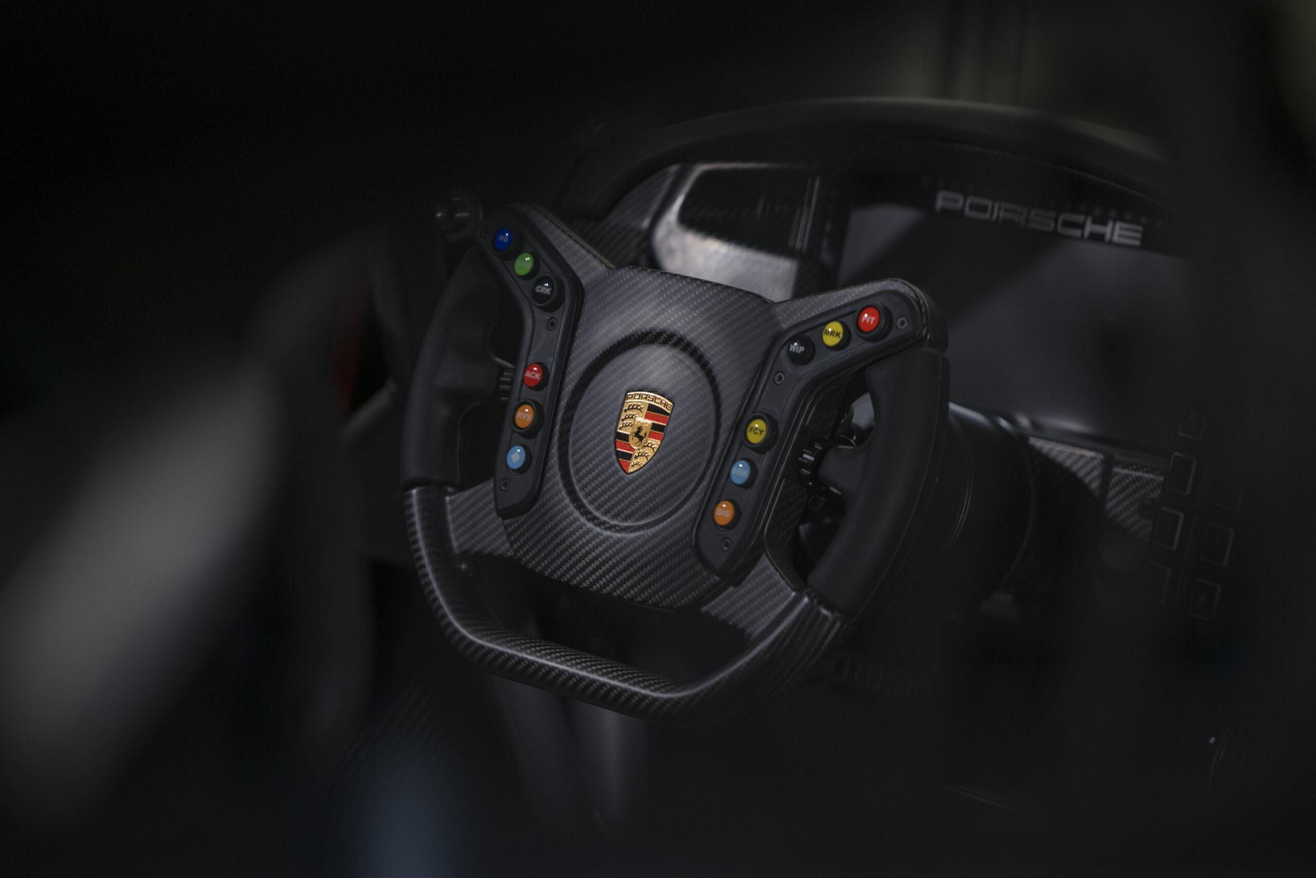 Porsche 911 GT3 Cup Steering Wheel