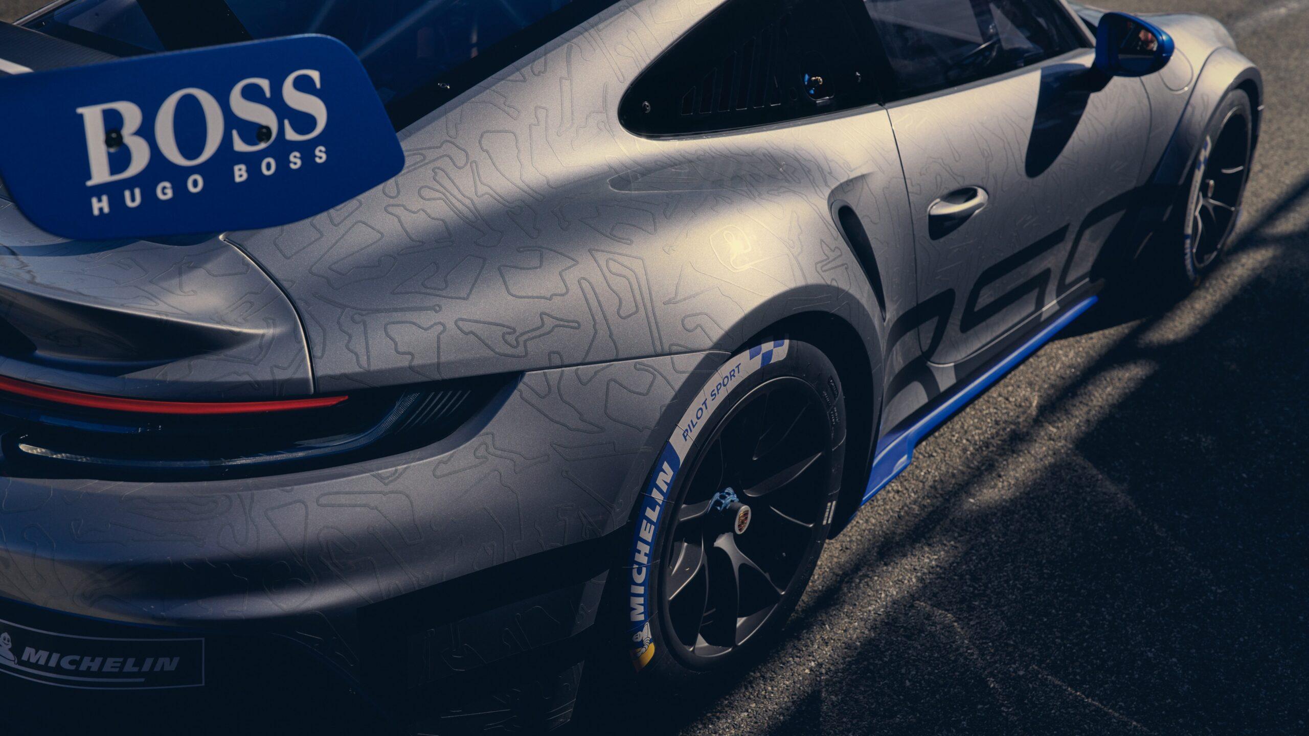 Porsche 911 GT3 Cup Rear Quarter