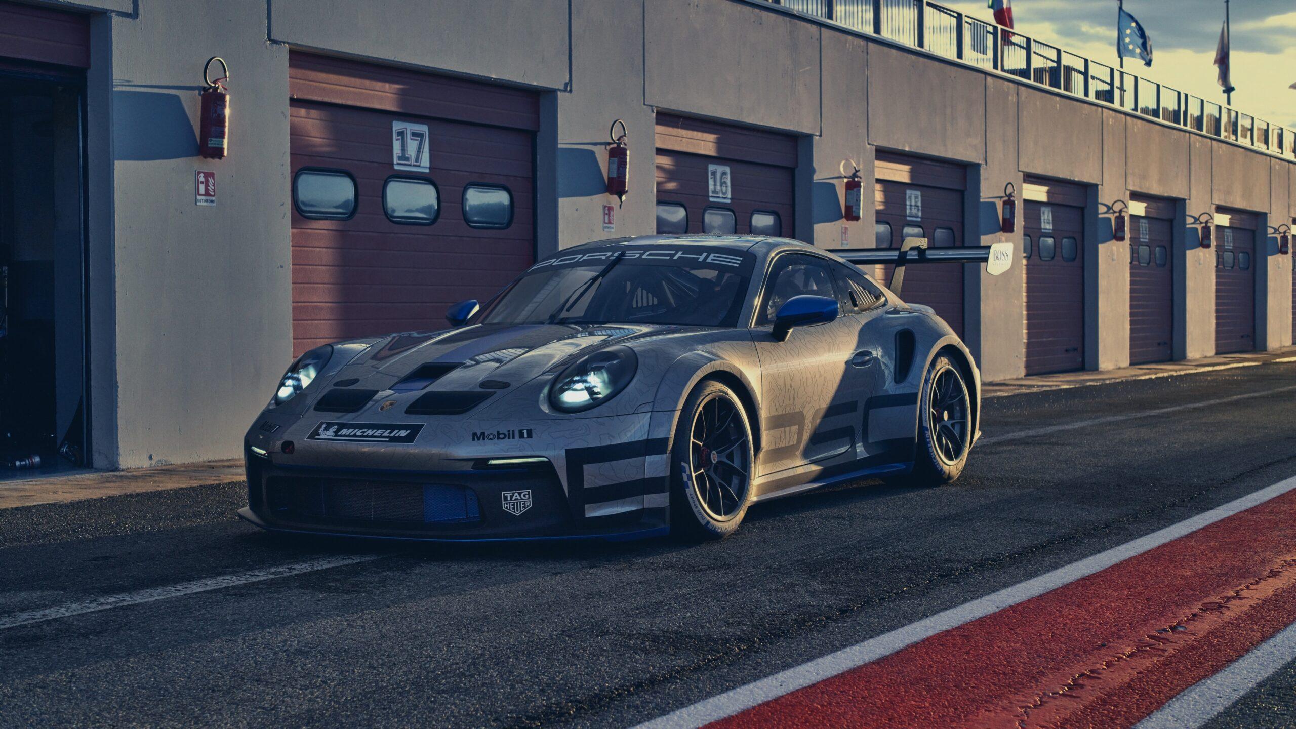 Porsche 911 GT3 Cup Side