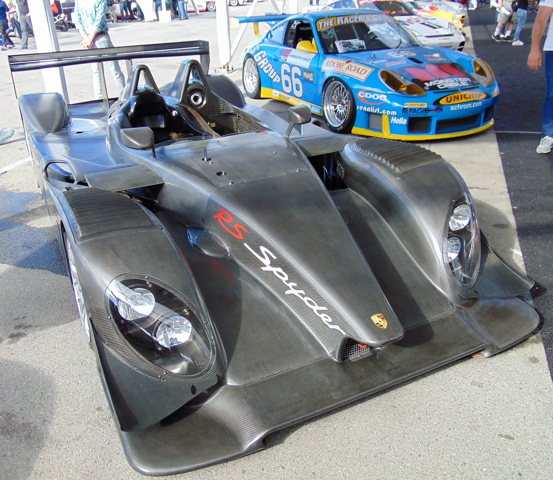 2008 Porsche RS Spyder graphite