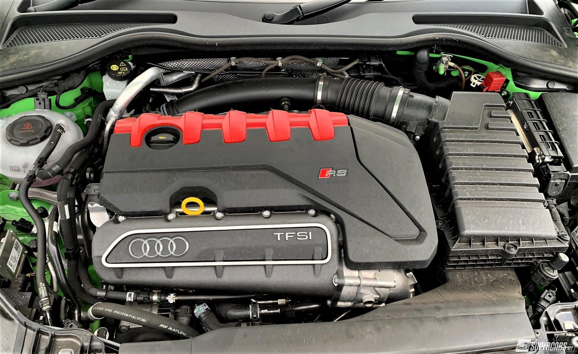 Engine of 2022 Audi TT RS