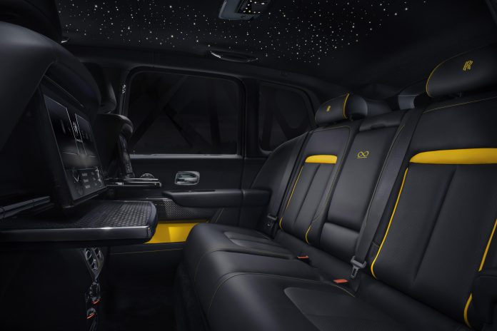 Rolls-Royce Cullinan Black Badge Seats