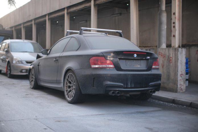 BMW 1M Coupe Abandoned