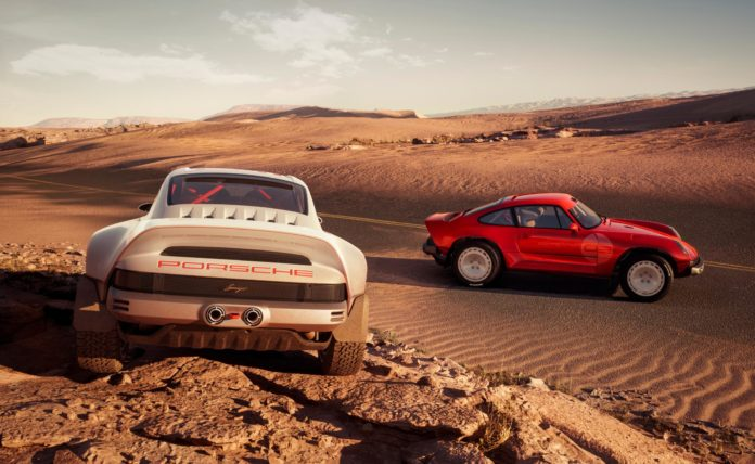 Singer-Tuthill Porsche 911 Safari wallpaper