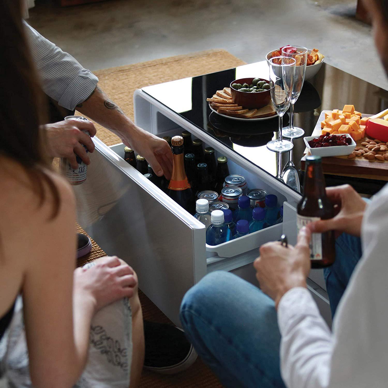 Refrigerator Coffee Table.Sobro Coffee Table Refrigerator