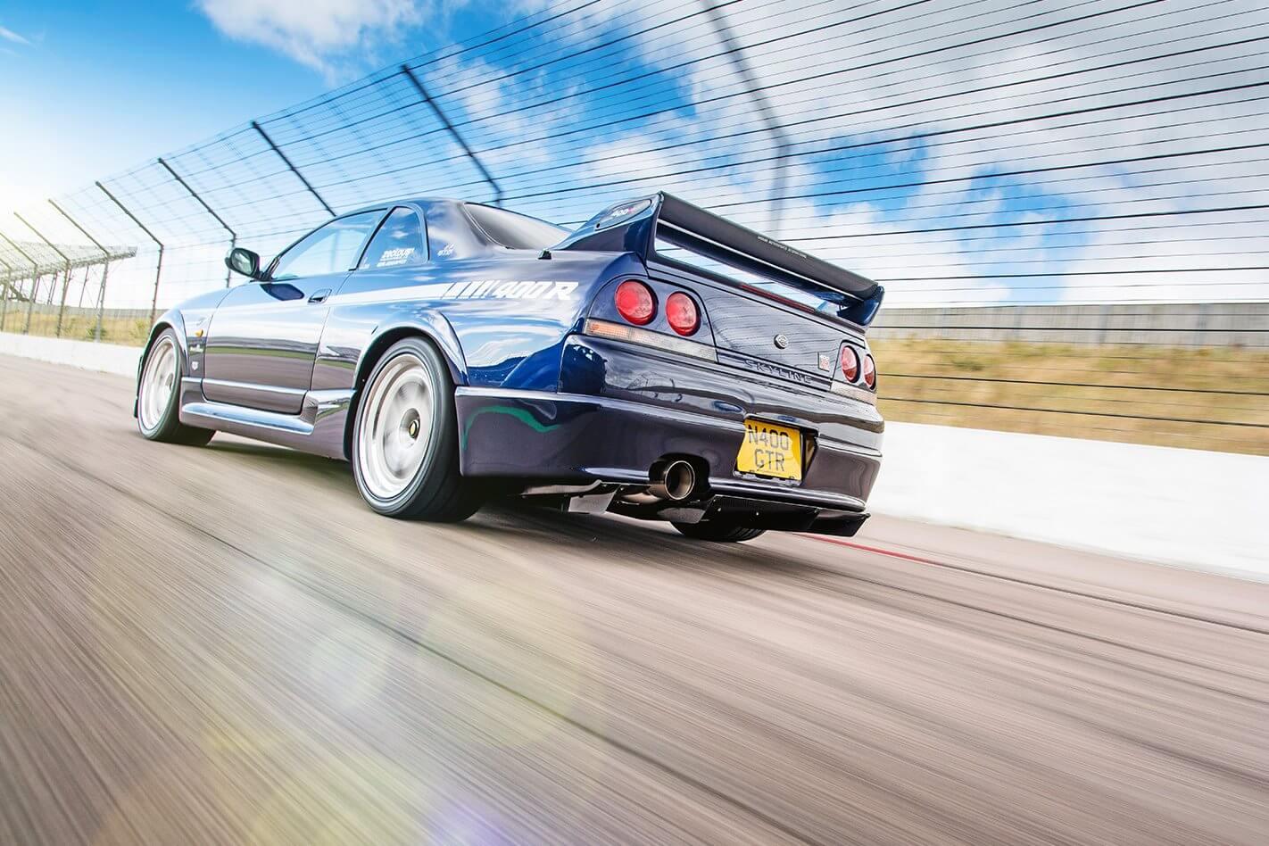 NISMO R33 400R drive