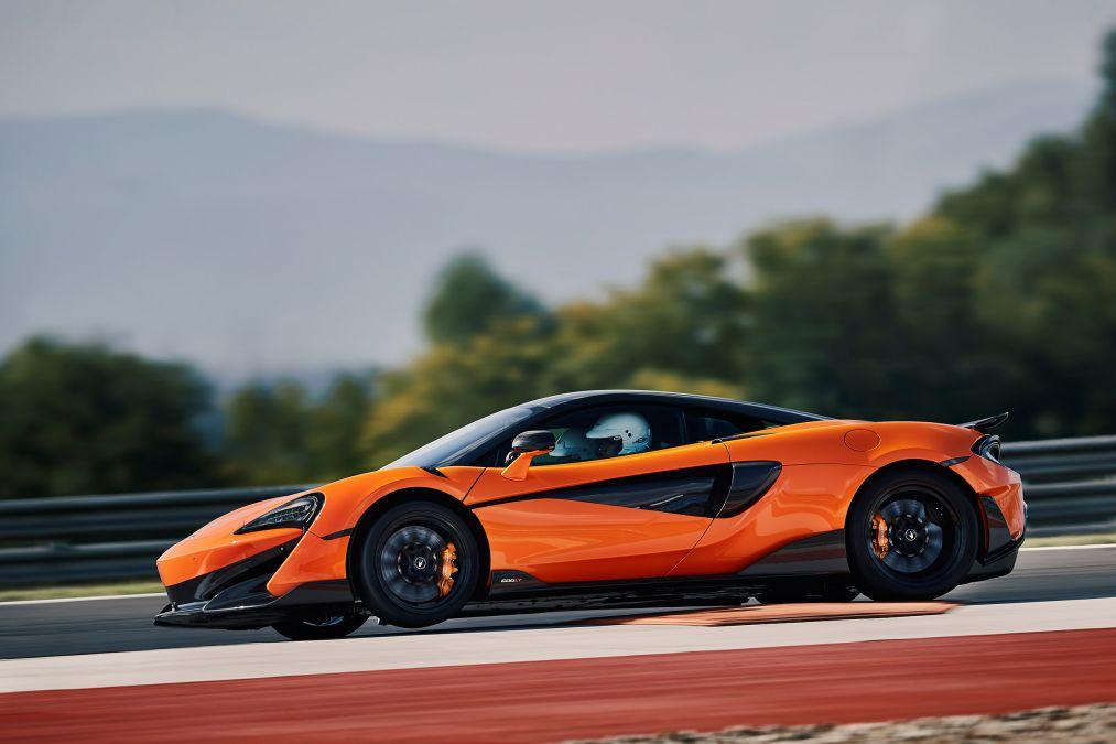 2019 McLaren 600LT profile