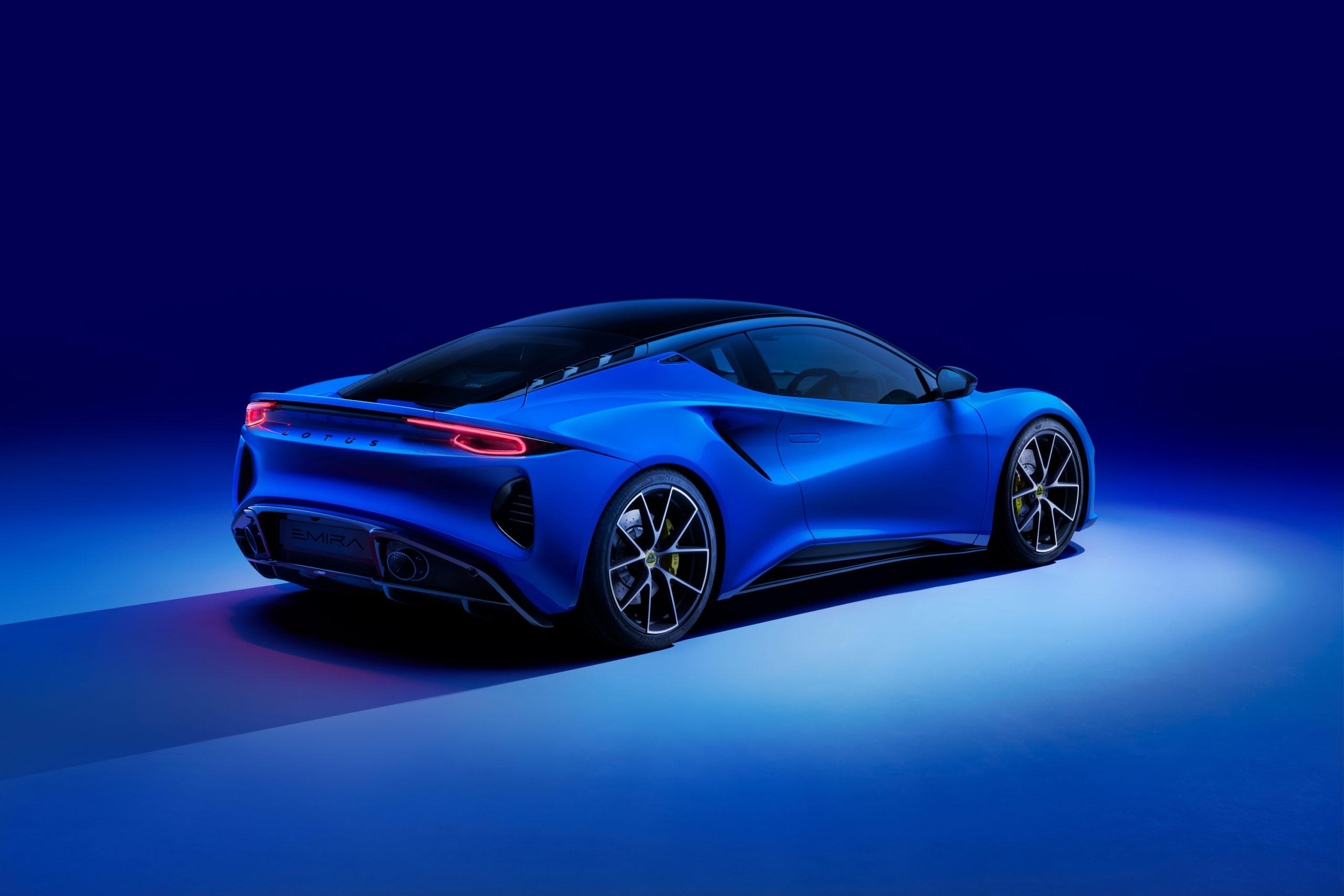 2022 Lotus Emira Rear