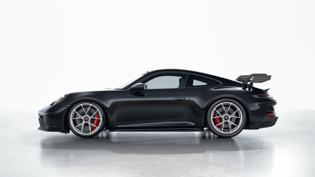 2022 Porsche 911 GT3 In Standard Black